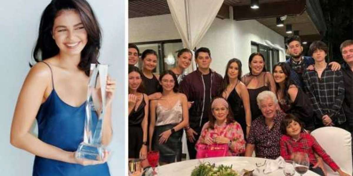 Janine Gutierrez thanked her family for opening doors for her